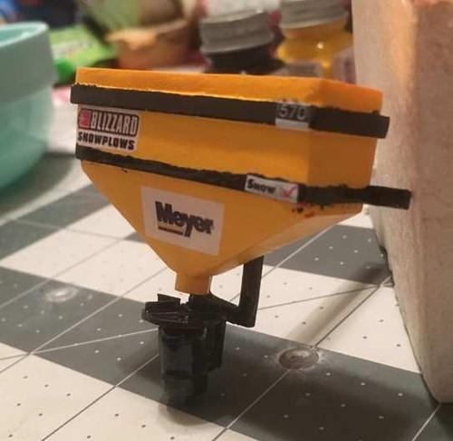 Truck Meyer Salter Kit, 1/25