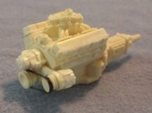 Chevy 350 Engine, Carb 1/25
