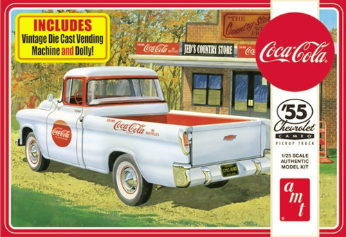'55 Chevy Coca-Cola Cameo Pickup 1/25