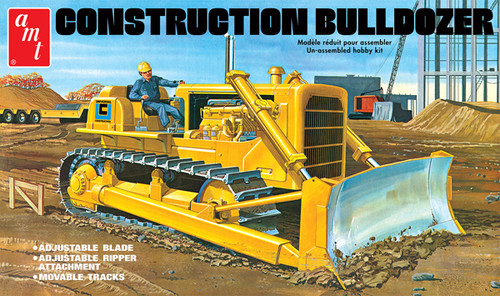 Construction Bulldozer 1/25