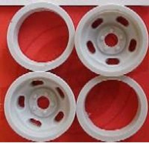 5-Slot Rear Wheels 1/16