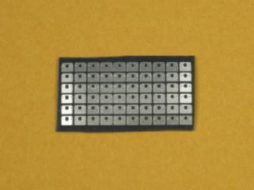 Dzus Mounting Plates Type 1 1/25