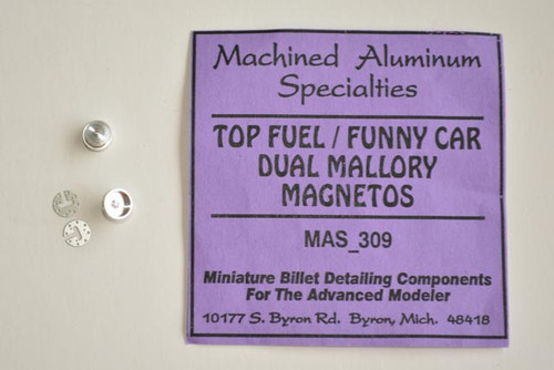 Mallory Magnetos TF / FC (1-pair) Machined Aluminum 1/25