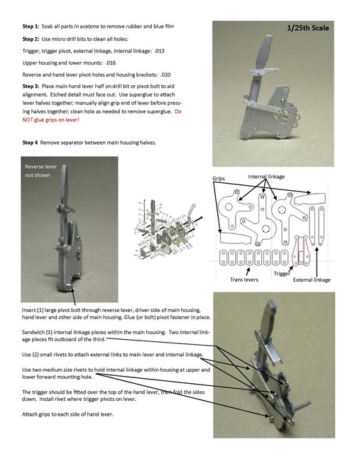 Liberty Shifter Directions 1/25