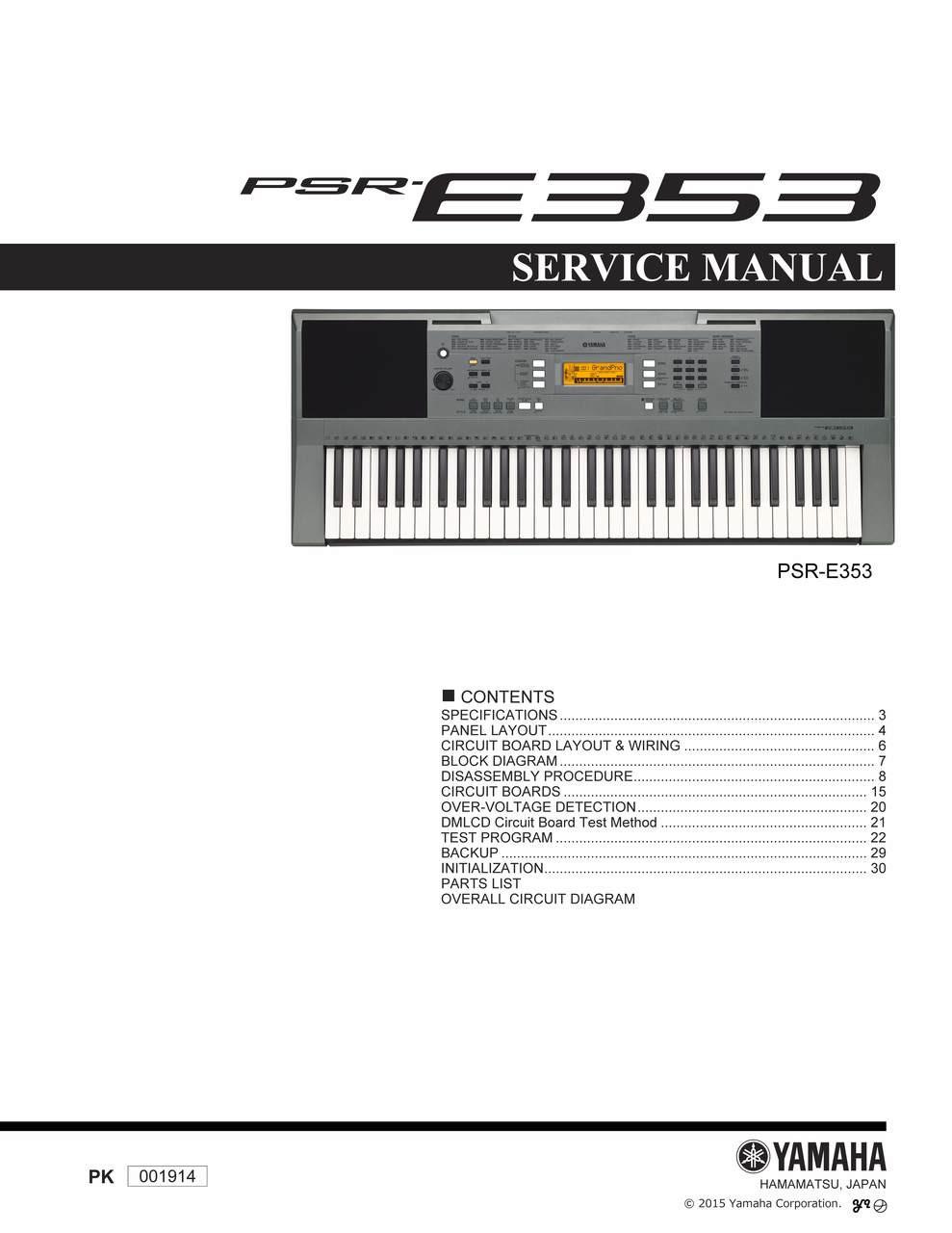 yamaha psr service manual sample user manual u2022 rh digiterica co yamaha psr 550 service manual pdf 2018 S550