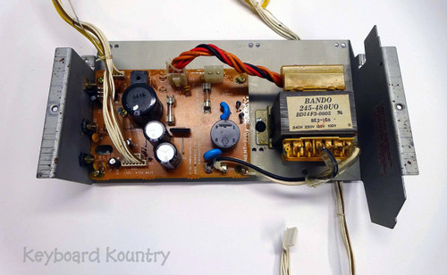 Roland D-50 Complete Power Supply Assembly