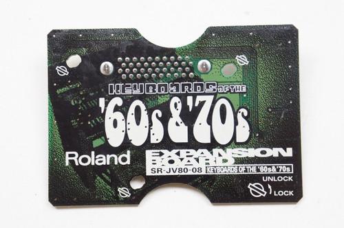 Roland SR-JV80-08 '60s & '70s Expansion Card