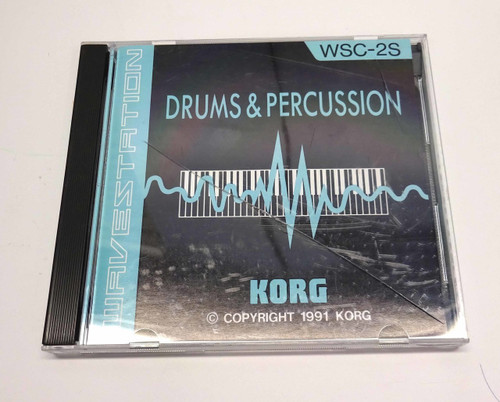 Korg Wavestation WSC-2S Drums & Percussion