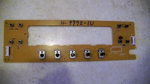 Korg Prophecy Part KLM-1848 Center Panel Control Board