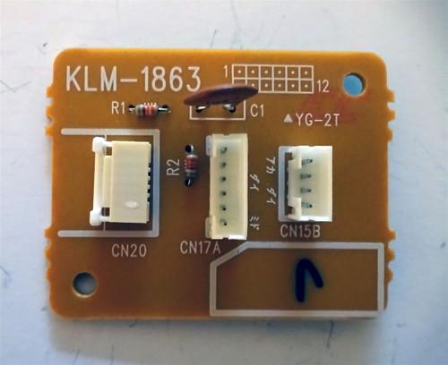 Korg KLM-1863 Board For Korg Prophecy