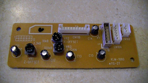 Korg Prophecy Part KLM-1880 Ribbon Control Board