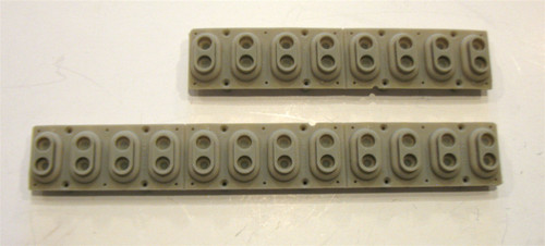 Rubber Key Contact for MR/ZR/TS/SQ Series, Kurzweil and Others