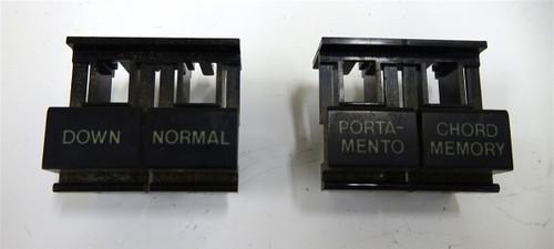 Roland Alpha Juno 1 Alpha Button Caps