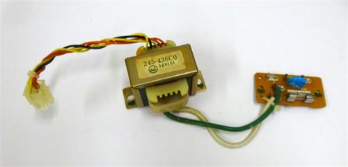Roland Alpha Juno 1 Power Transformer and Fuse Board