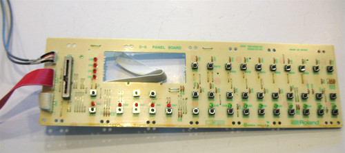 Roland D-5 Panel Board with Cables and Wiring