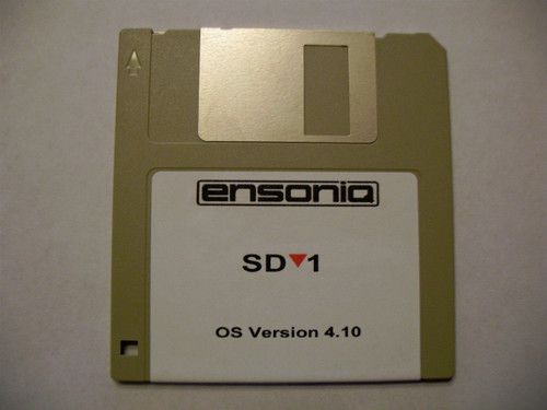 Ensoniq SD-1 Operating System Disk v 4.10 OS boot