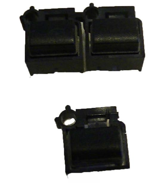 Yamaha S-80 Black Button Caps with LED Hole