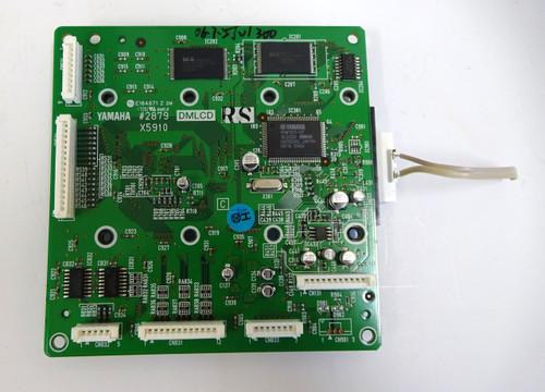 Yamaha YPT-300/310 Main/Display Board
