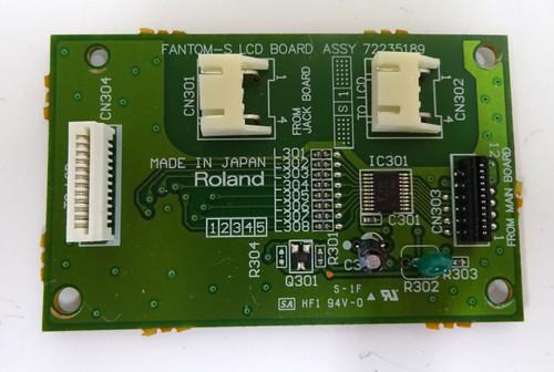 Roland Fantom S LCD Display Board