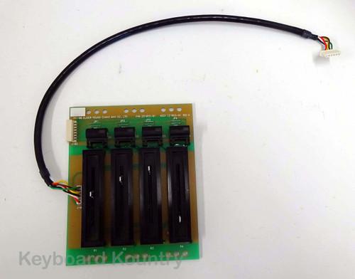 Kurzweil PC88 Slider Board