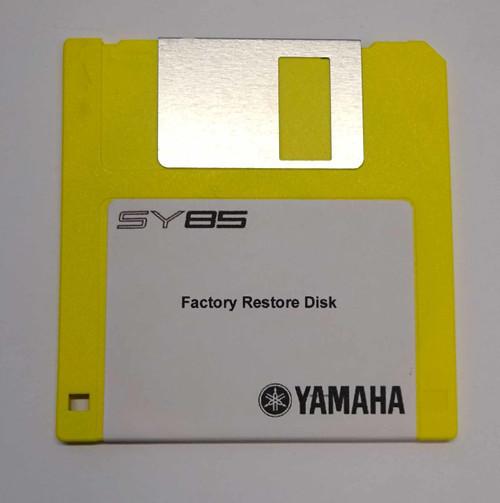 Yamaha SY85 Factory Restore Disk