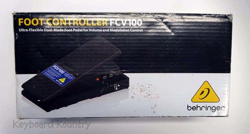 Behringer FCV100 Modulation Effect Pedal