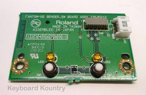 Roland Fantom G6/7/8 Bender Switch Board