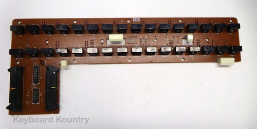 Yamaha DX7 PNB Right Panel Board