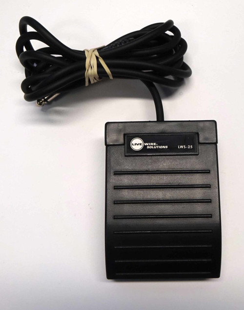Live Wire Solutions LWS-25 Foot Pedal