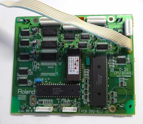 ROLAND D-20 CPU Board