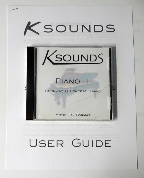 Ksounds Piano 1 Steinway D Concert Grand for Motif ES