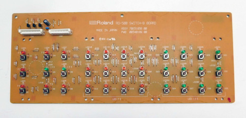Roland RD-500 Panel/Switch Board B
