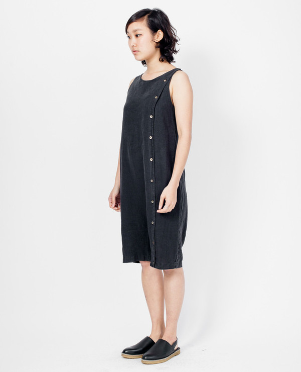 Black Crane Short Jumper - Black