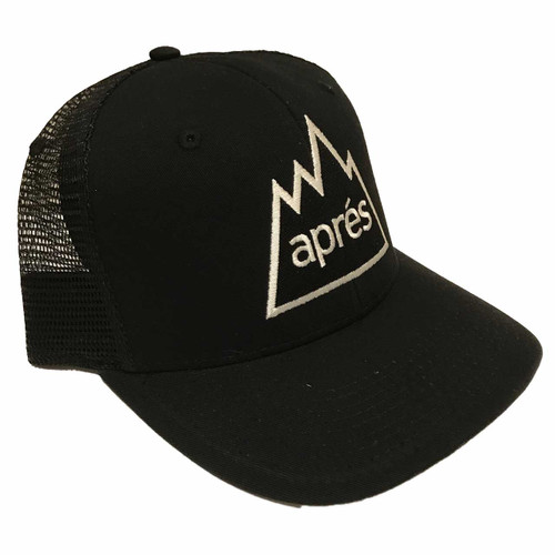Apres Hat in Black