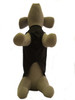 Unlined step in lightweight waterproof dog coat black
