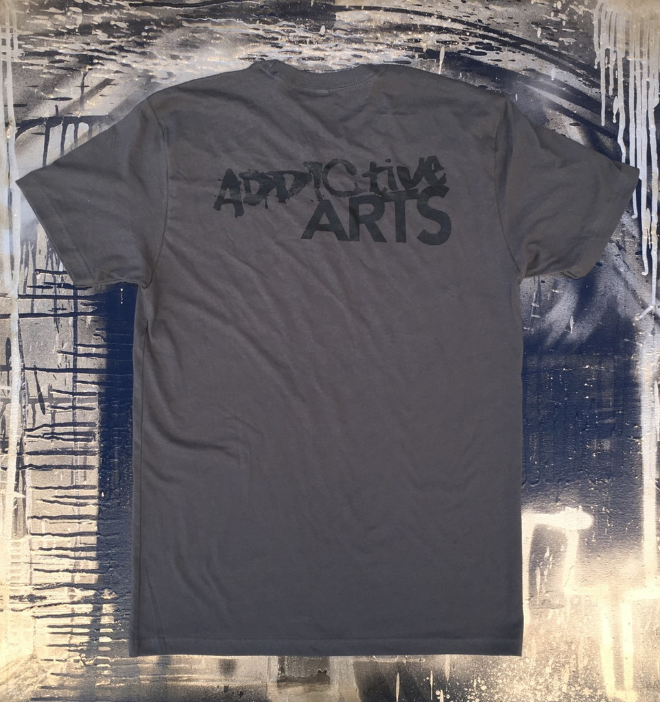 kawsquiat Grey Men's T-shirt