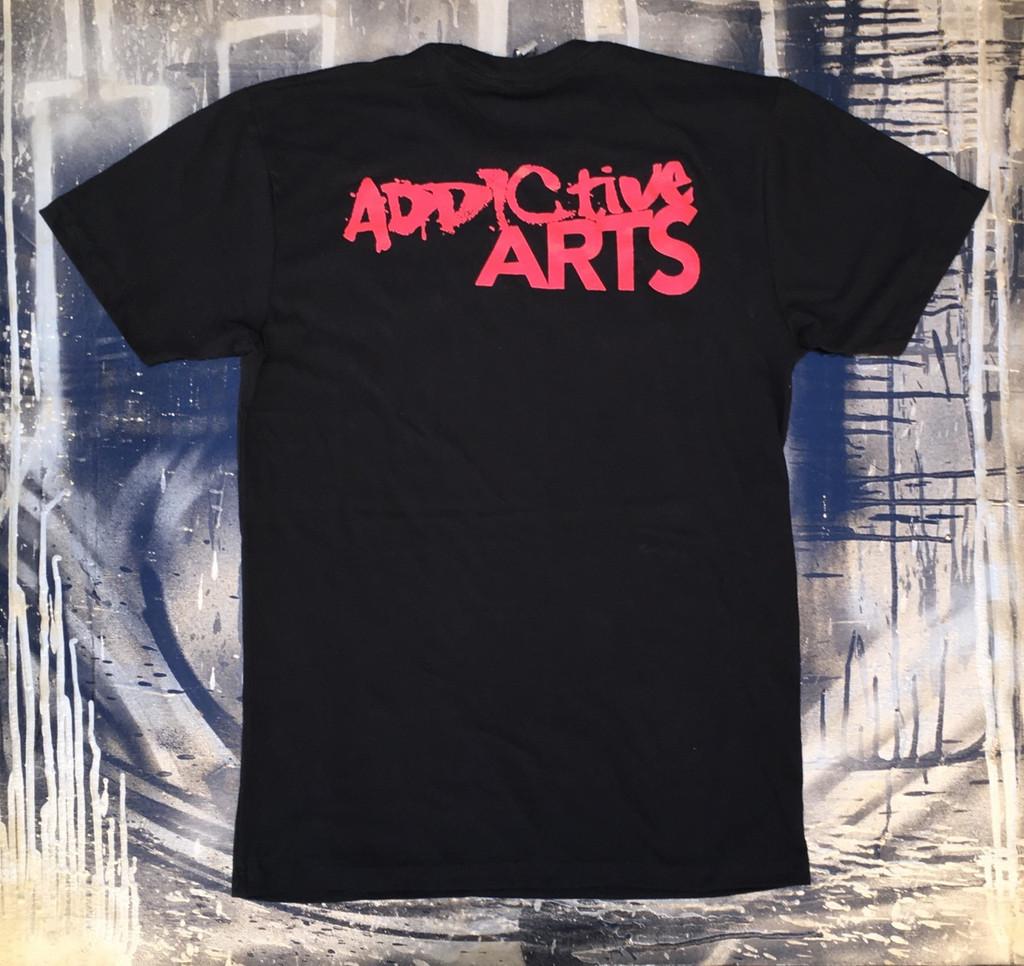 kawsquiat Black & Red Men's T-shirt