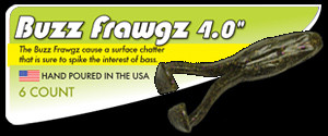 Buzz Frawgz Fishing Lure Frog