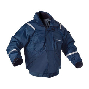 I077 Navy Large Powerboat Float Coat