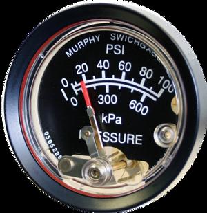 Oil Pressure Gauge A20P / A25P Murphy
