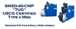 SMSD-40-CMP Marine Sanitation Device