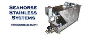 Stainless Steel Seahorse Marine Sanitation System