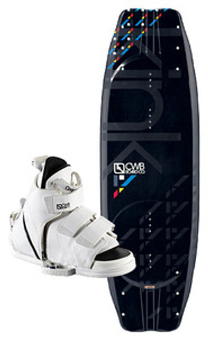 Kink CWB Wakeboard with Vapor Bindings