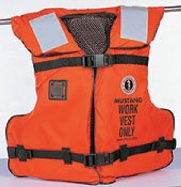 Work Vest w/Solas Tape