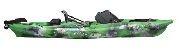 Predator MK Minn Kota Old Town Kayak