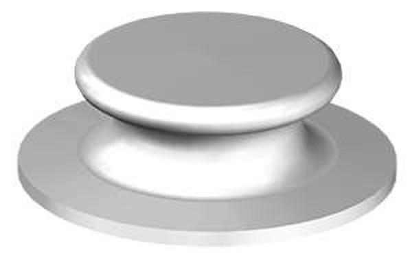 """Button Chock - 6"""" Cast Steel"""
