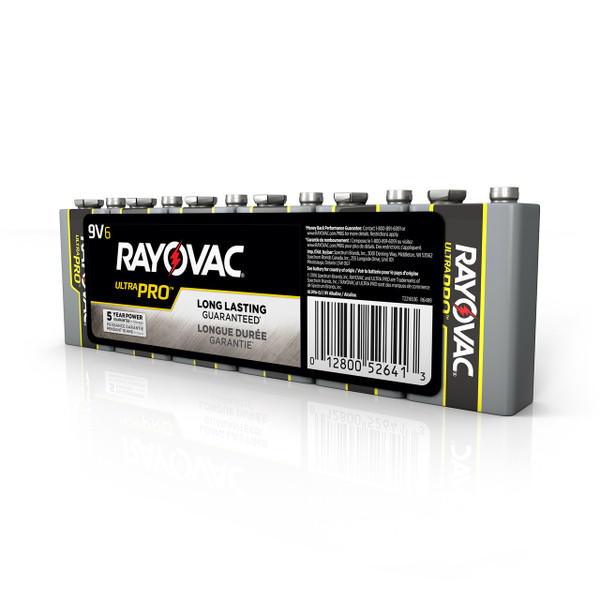 9V Alkaline Battery 6 Pack