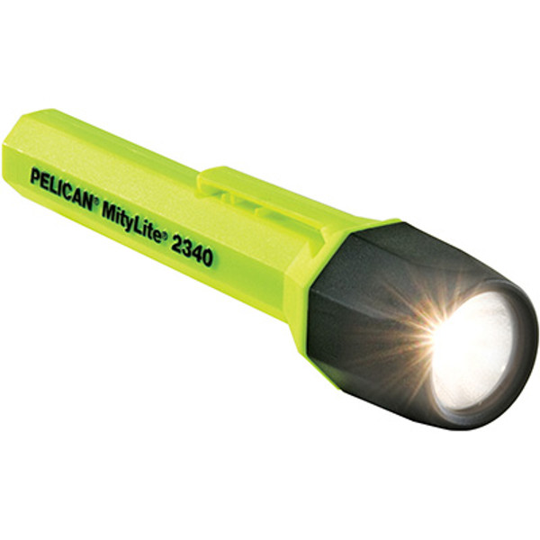 Pelican MityLite 2340 Flashlight, 2 AA, Yellow