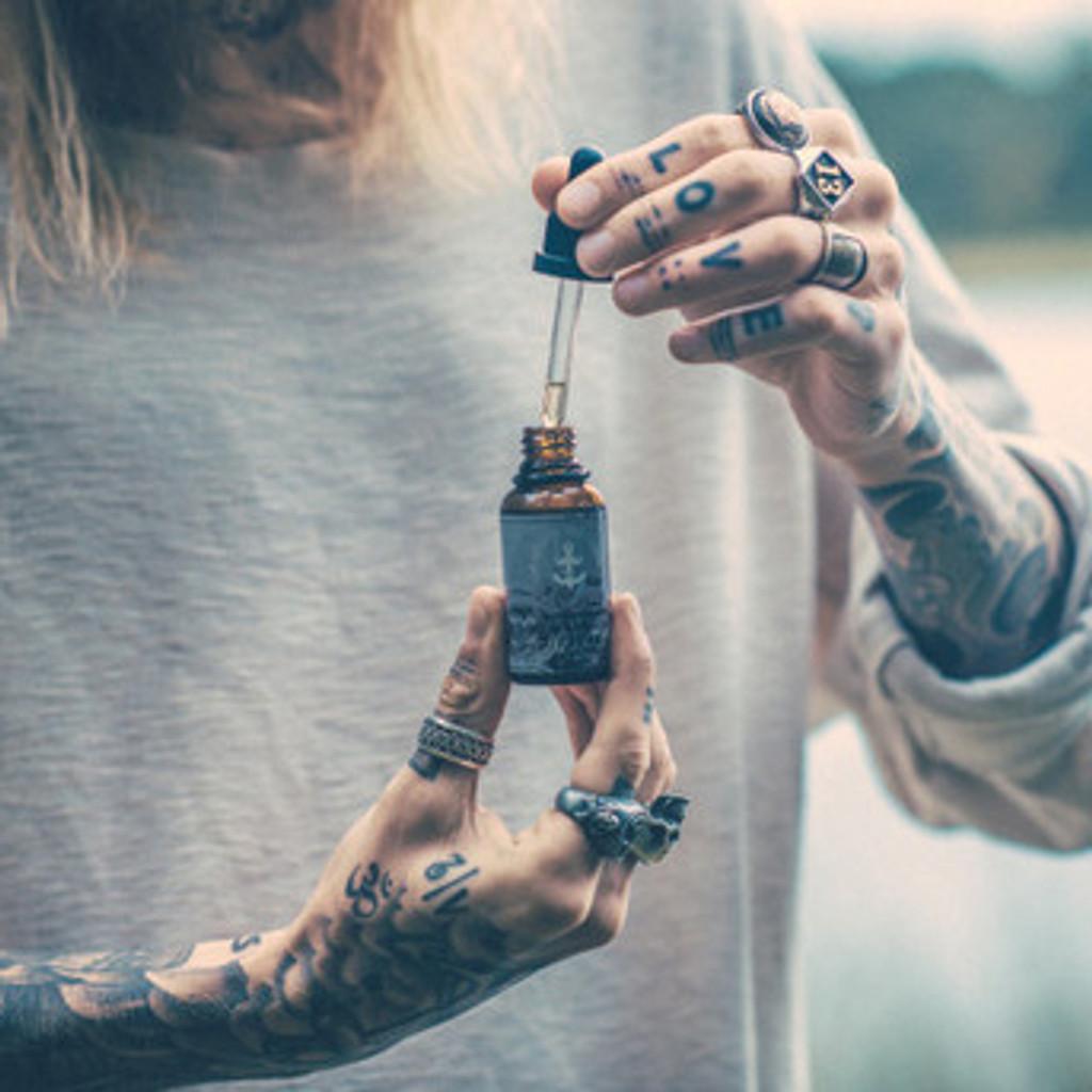 Sven Signe Den Hartogh x The Brighton Beard Company Beard Oil