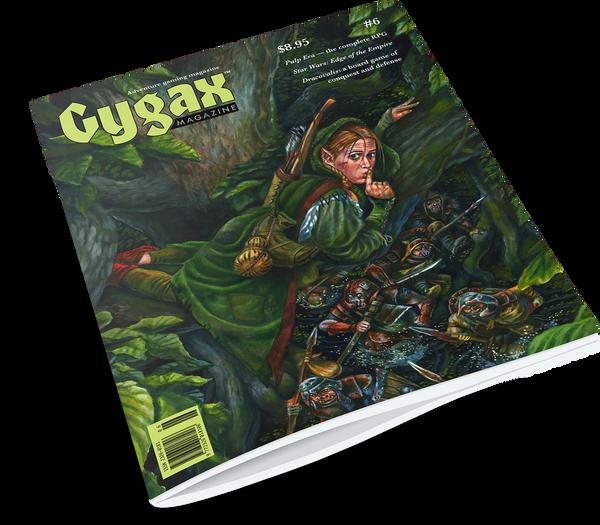 Gygax magazine #6 - shipping now
